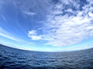 海にハマる瞬間