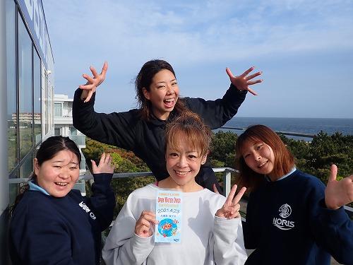 お客様の声【ダイバー認定&記念ダイビング】4/23&4/25