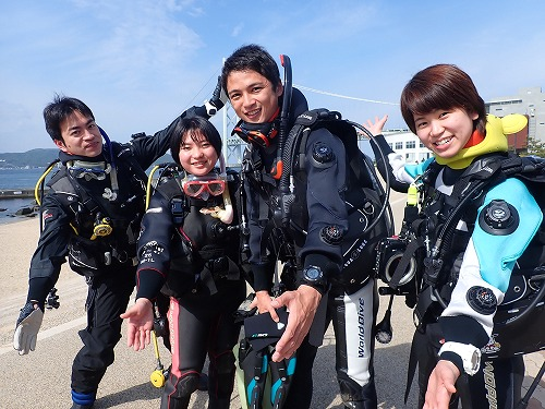 我らの海!舞子浜ダイビング!